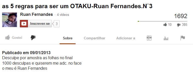 RUAN FERNANDES O CARA