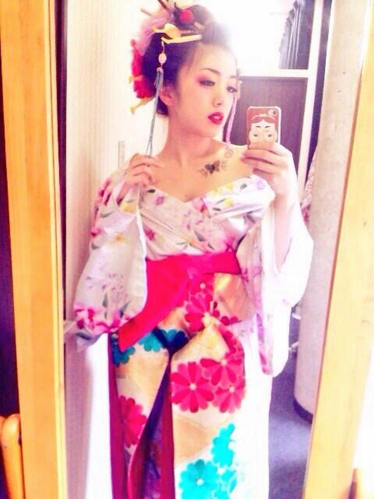 Japonesa Selfie sexy 01