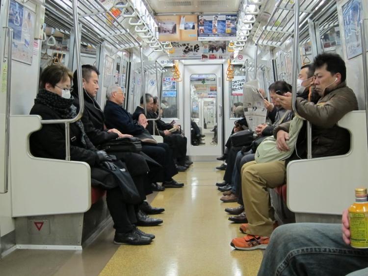 japan subway in