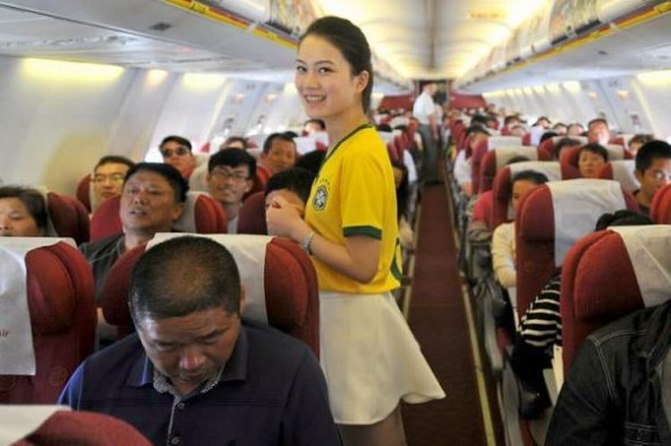 Comissaria de voo chinesa 02