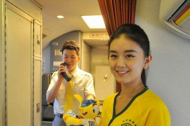 Comissaria de voo chinesa 05
