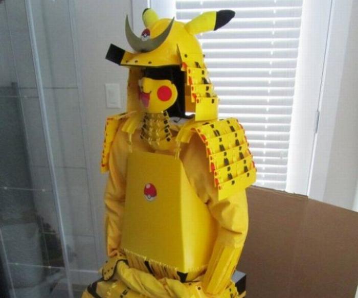 Pikachu Samurai 01
