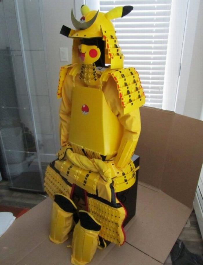 Pikachu Samurai 02