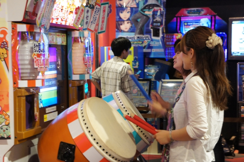 Taiko no tatsujin game center 02